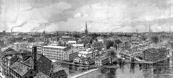 Pawtucket in 1886