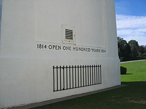 Peace Arch - Image: Peacearch insideinscription 1