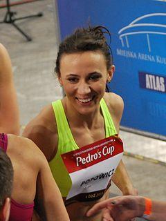 Marika Popowicz-Drapała Polish sprinter