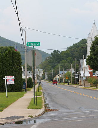 Pennsylvania Route 864 - Pennsylvania Route 864 in Picture Rocks
