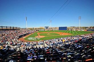 Peoria Sports Complex - Image: Peoria Stadium