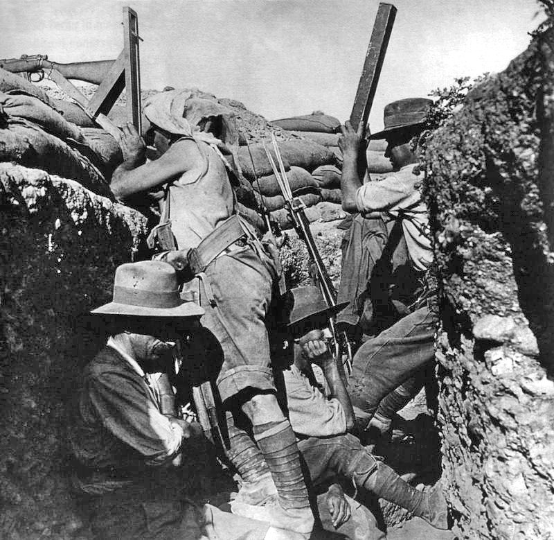 Periscope rifle Gallipoli 1915