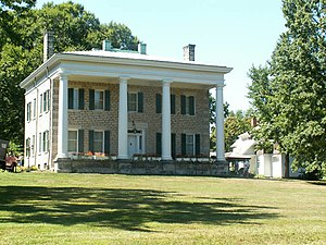 The Summit County Historical Society of Akron, Ohio - The Perkins Stone Mansion is one of the properties owned by the Summit County Historical Society.