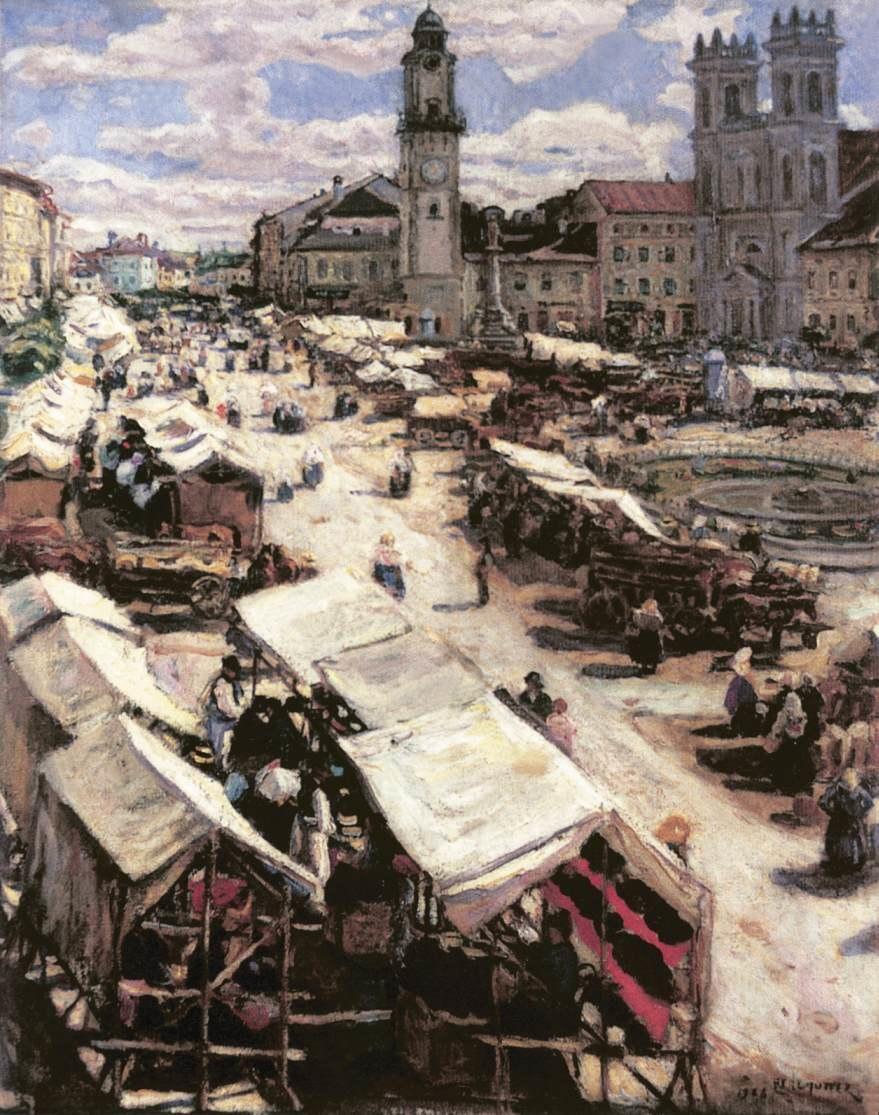 Perlmutter Market at Beszterceb%C3%A1nya 1906