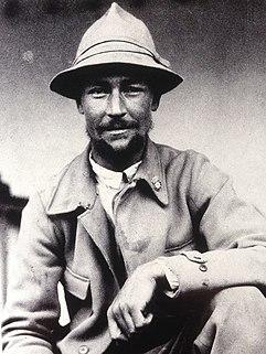 austrian traveller, geographer, mountain climber and cartographer