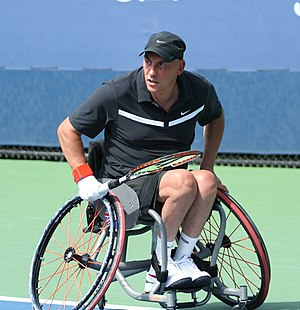 Peter Norfolk - Peter Norfolk at the 2011 US Open.