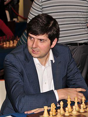 Peter Svidler - Svidler at the European Team Championship in Warsaw, November 2013