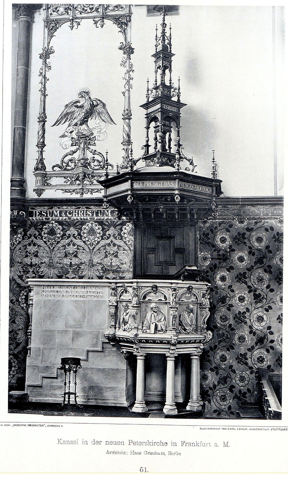 Peterskirche Frankfurt