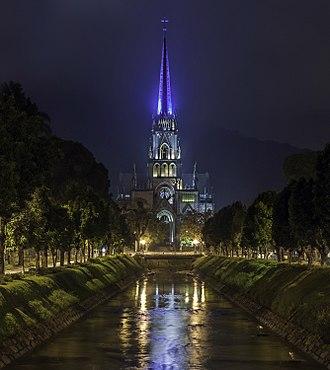 Cathedral of Petrópolis - Image: Petrópolis Cathedral, Saint Peter of Alcantara Church, place of Emperor Pedro II, Brazil