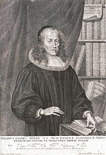 "Philipp Jacob Spener, the ""Father of Pietism""."