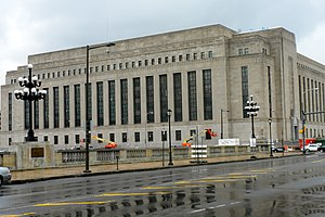 United States Post Office-Main Branch (Philadelphia, Pennsylvania) - United States Post Office-Main Branch, April 2010