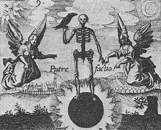 Suns in alchemy - The black sun as pictured in the Putrifaction emblem of Philosophia Reformata (Johann Daniel Mylius)