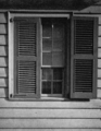 Photograph of a Window of the Dr Benjamin Shaw House--Ste Genevieve MO.png