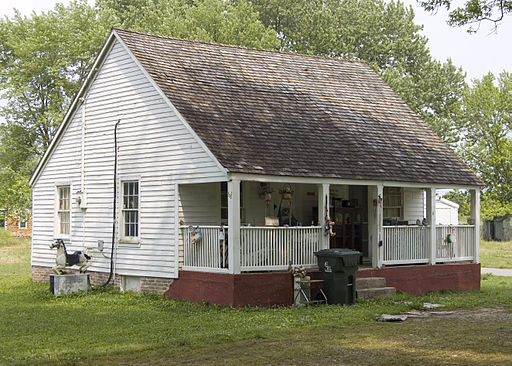 Photograph of a house on Gabouri St in Ste Genevieve MO