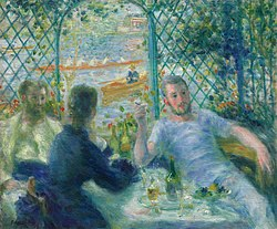 Pierre-Auguste Renoir: Lunch at the Restaurant Fournaise