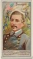 Pierre Gustave Toutant Beauregard, from the Great Generals series (N15) for Allen & Ginter Cigarettes Brands MET DP834760.jpg