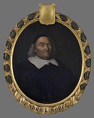 Portret van Hendrick Willemsz. Nobel (1568-1649)