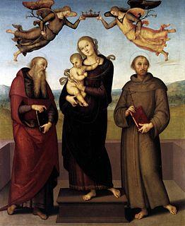 painting by Pietro Perugino