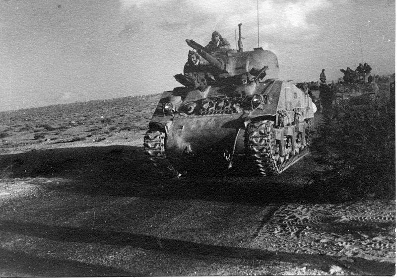 חטיבת הנגב בפשיטה לשדה התעופה אל-עריש