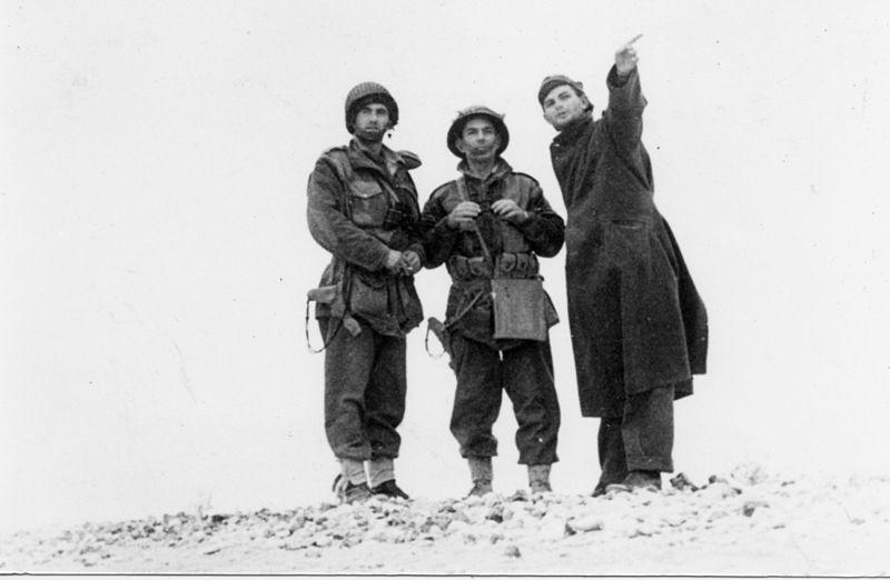 מבצע חורב - מפקדים על המשרפה לפני התנועה לניצנה