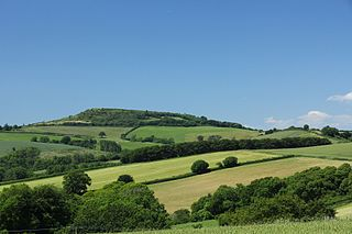 Pilsdon Pen mountain in United Kingdom