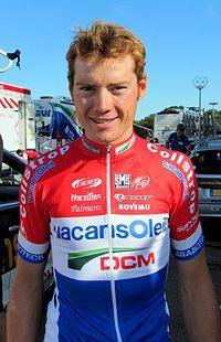Pim Ligthart au soir de la 2e étape du Tour de l'Ain 2011.JPG