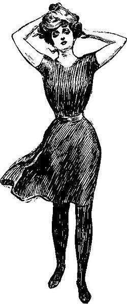 Gibson Girl par Charles Gibson, 1897