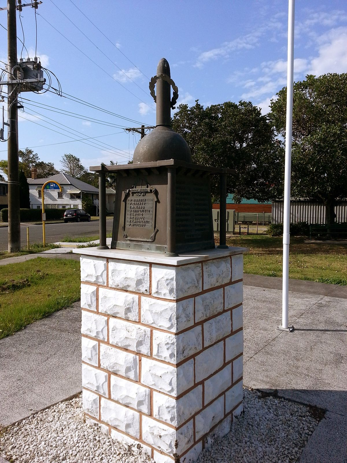 Pinkenba War Memorial Wikipedia