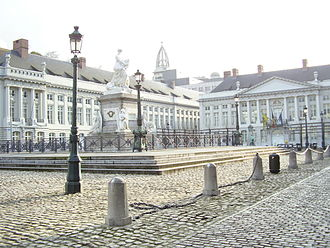 Place des Martyrs, Brussels - Martyrs' Square