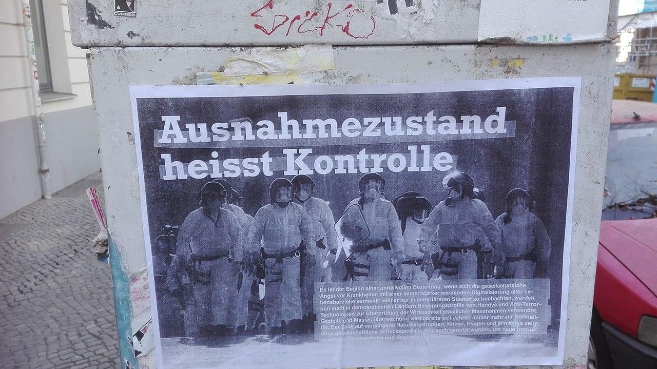 "Plakat ""Ausnahmezustand heißt Kontrolle"".jpg"