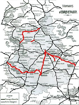 Image illustrative de l'article Tramways d'Eure-et-Loir