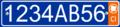 Plaque d'immatriculation Cote d'ivoire-Vehicle Privee.png