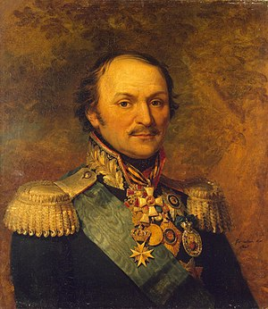 Matvei Platov - Platov's posthumous portrait from the Military Gallery of the Winter Palace (1825)