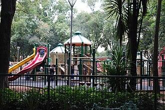Parque España - Playground designed by architect Javier Sánchez