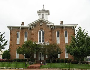 Randolph County, Arkansas - The Old Randolph County Courthouse in Pocahontas was the seat of county government until 1941.