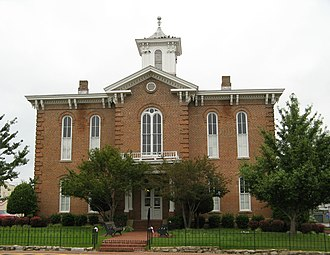 Pocahontas, Arkansas - Old Randolph County Courthouse in downtown Pocahontas