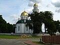 Podlaskie - Grodek - Grodek - orth. church of the NotBVM - side.JPG