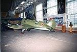 Polikarpov I-16 Replica of the Polikarpov I-16. ADDITIONAL INFORMATION- The Polikarpov I-16 is a diminutive fighter, nicknamed Ishak, Ishachok (Donkey, Burro) by Soviet pilots, prominently featured in (18386805072).jpg