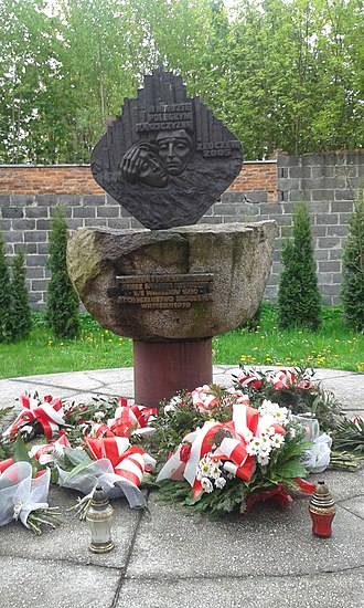 Złoczew - Monument of Victim II World War