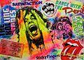 "Pop-Art ""Mick Jagger"" Öl + Acryl auf Leinwand von Silvia Klippert.jpg"