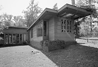 Pope-Leighey House - North east facade - HABS VA,30-FALCH,2-10.jpg