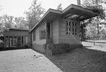Pope-Leighey House - North east facade - HABS VA,30-FALCH,2-10.jpg