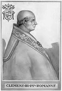 Pope Clement III 12th-century Catholic pope