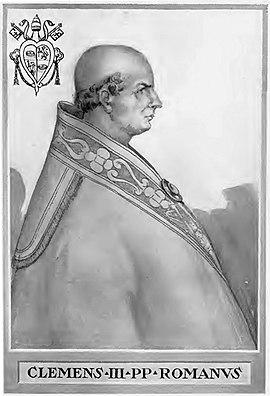 Klemens III., Papst