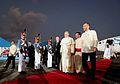 Pope Francis Arrival Villamor Airbase 1.jpg