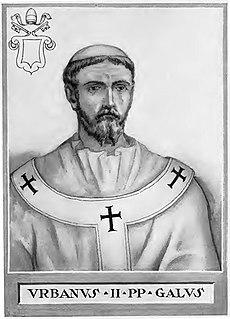 Pope Urban II pope (1088-1099)