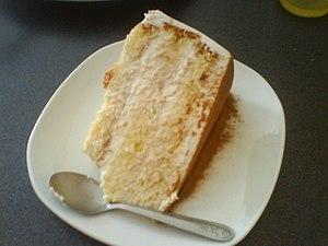 """Una porción de la tradicional torta """"Tres..."""