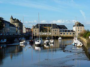 Pont-l'Abbé - The harbour of Pont-l'Abbé