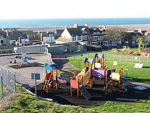 Fortuneswell - The play area of Victoria Gardens.