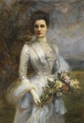 Portrait de Louise Elizabeth Laure de Bonneval, comtesse de Brecey